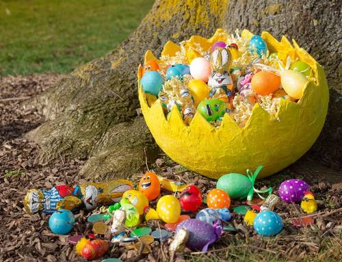 The hidden benefits of an easter egg hunt