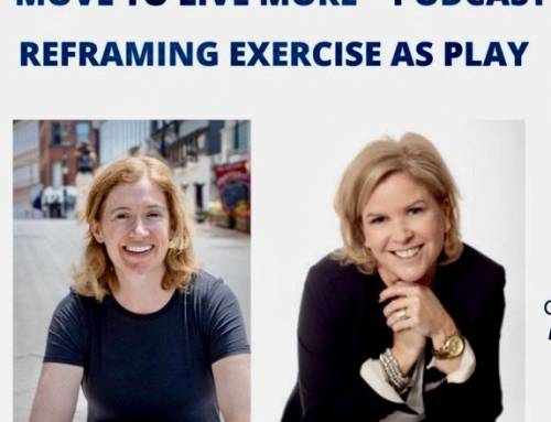 Reframing exercise as PLAY