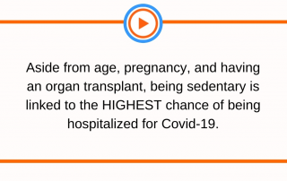 Exercise cuts your risk of dying from Covid-19 by 2.5x